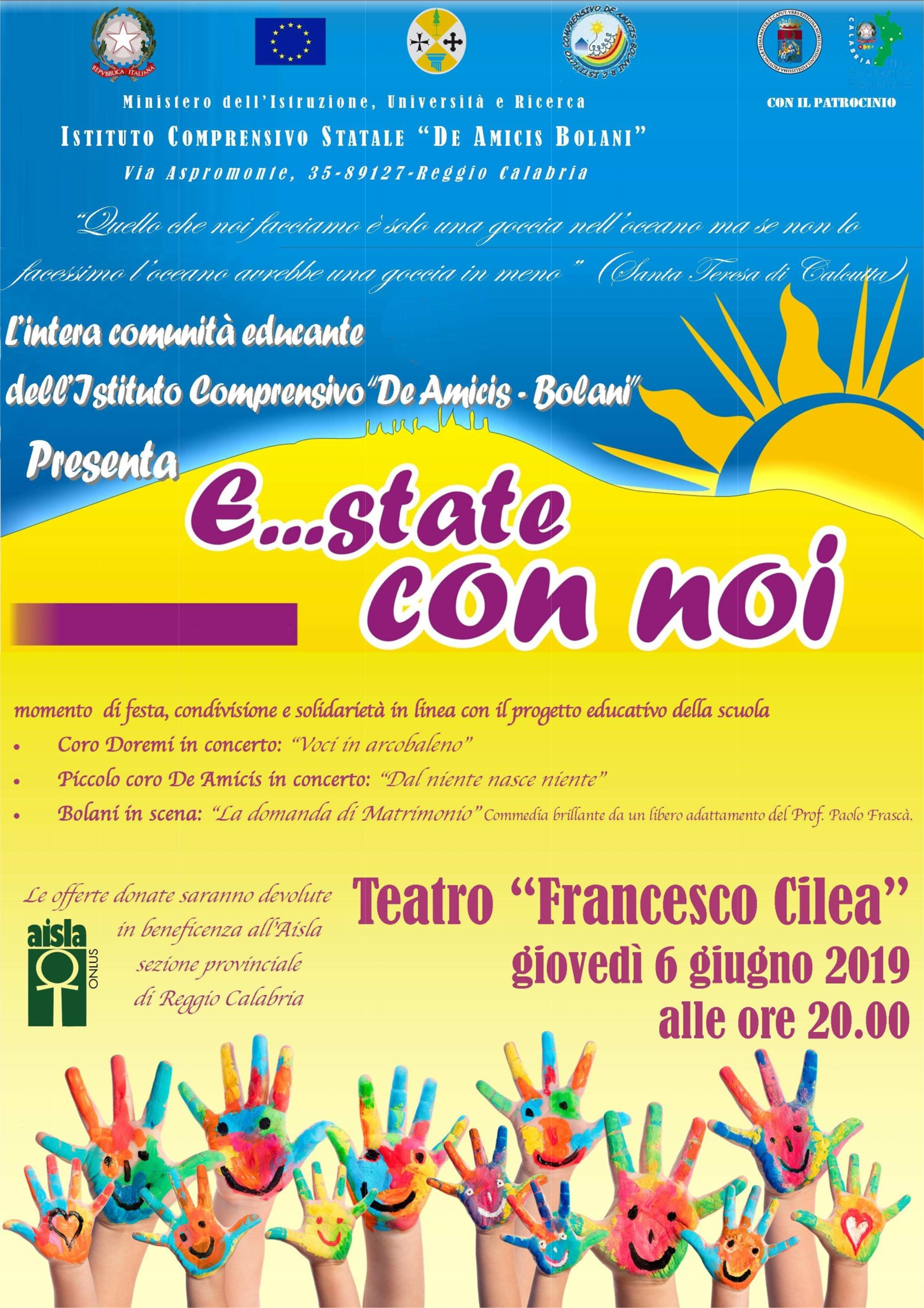 Calendario Concerti Calabria.Goldengate By Templated